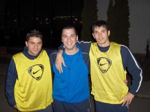 11 Cu Herea si Roberto Iancu 2007 - Psiholog sportiv Andreas Hniatiuc