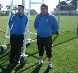 Andreas Hniatiuc si Gheorghe Hagi
