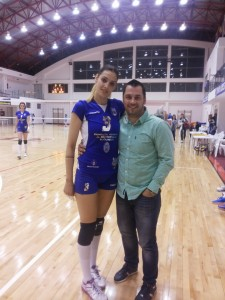 Andreas Hniatiuc si Roxana Bacsis
