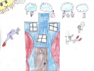 Casa - Interpreteaza desenele copiiilor
