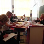 Prof. Steluta Trascaian, Prof. Adrian Tanacli si psiholog Gabriela Cuntan