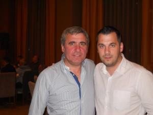 Gica Hagi si Psiholog sportiv Andreas Hniatiuc
