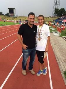 Psiholog Sportiv Andreas Hniatiuc si Cristina Bujin