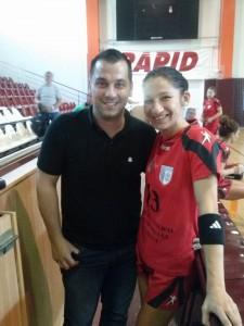 Psiholog Sportiv Andreas Hniatiuc si Cristina Varzaru
