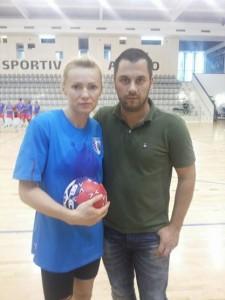 Psiholog Sportiv Andreas Hniatiuc si Iulia Curea
