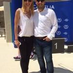 Psiholog sportiv Andreas Hniatiuc si Camelia Potec
