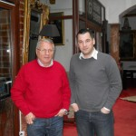 Psiholog sportiv Andreas Hniatiuc si Mircea Radulescu, directorul Scolii Federale de Antrenori