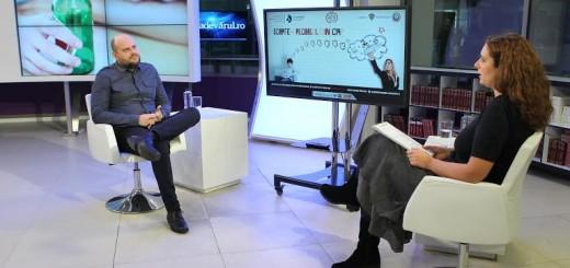 Psihologul Ionut Ghiugan este invitatul Adevarul Live, in studioul Tv al Holdingului Adevarul din Bucuresti, joi, 10 decembrie 2015. (Eduard Enea)